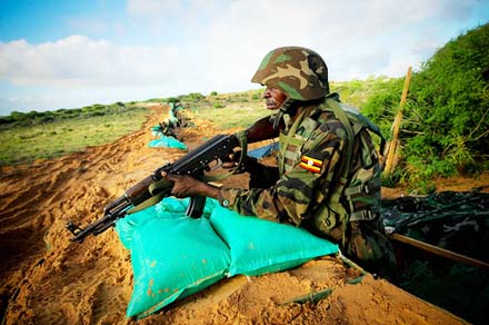 A Uganda soldier in AMISOM: Al Shabaab is beaten, for now, and things are quieting down in Somalia.