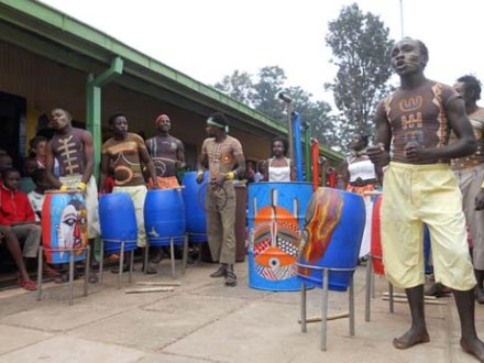 The Slum Drummers; they think outside the box.