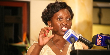 """Narc-Kenya candidate Martha Karua: She """"spoilt"""" a """"good"""" story when her party held orderly primaries. (Nation photo)"""
