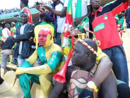 Fans at AfCon2013: Hard to imagine that when the first tournament was played, only three countries took part.