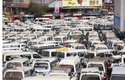 Matatu madness; an urban nightmare, but many Africans find it very familiar.