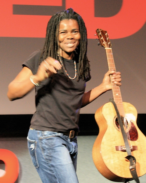 "Tracy  Chapman: ""Why is a woman still not safe When she's in her home?"" she sang."
